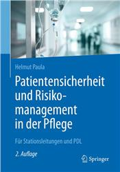 Cover Patientensicherheit und Risikomanagement in der Pflege