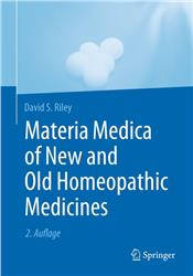 Cover Materia Medica of New and Old Homeopathic Medicines