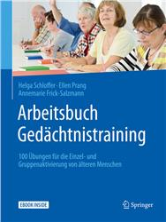 Cover Arbeitsbuch Gedächtnistraining