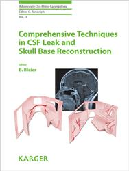 Cover Comprehensive Techniques in Cerebrospinal Fluid Leak and Skull Base Reconstruction