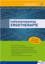 Cover Indikationskatalog Ergotherapie