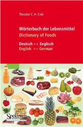 Cover Wörterbuch der Lebensmittel - Dictionary of Foods