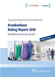 Cover Krankenhaus Rating Report 2016 / Buch + eBook