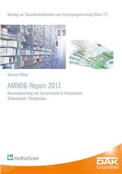Cover AMNOG-Report 2017