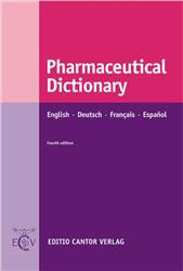 Cover Pharmaceutical Dictionary