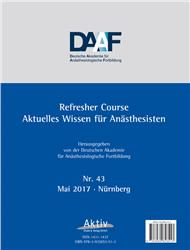 Cover Refresher Course Nr. 43