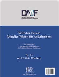 Cover Refresher Course Nr. 44