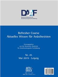 Cover Refresher Course Nr. 45