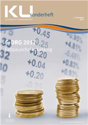 Cover G-DRG Fallpauschalenkatalog 2017