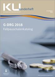 Cover G-DRG Fallpauschalenkatalog 2018