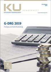 Cover G-DRG Fallpauschalenkatalog 2019