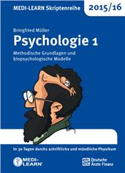 Cover MEDI-LEARN Skriptenreihe 2015/16: Psychologie 1