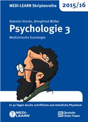 Cover MEDI-LEARN Skriptenreihe 2015/16: Psychologie 3