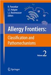 Cover Allergy Frontiers: Classification and Pathomechanisms
