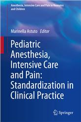 Cover Pediatric Anesthesia, Intensive Care and Pain