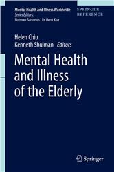 Cover Mental Health and Illness of the Elderly