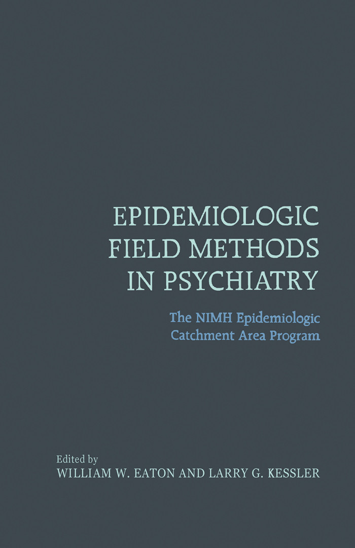 Epidemiologic Field Methods in Psychiatry