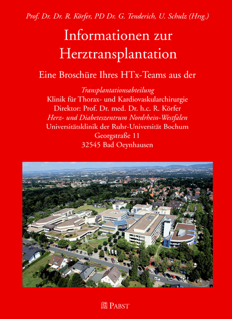 Informationen zur Herztransplantation