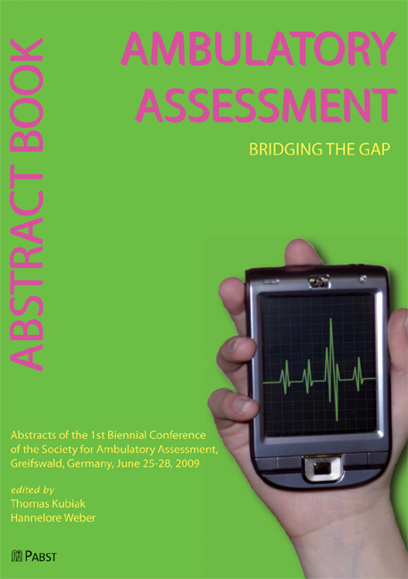 Ambulatory Assessment