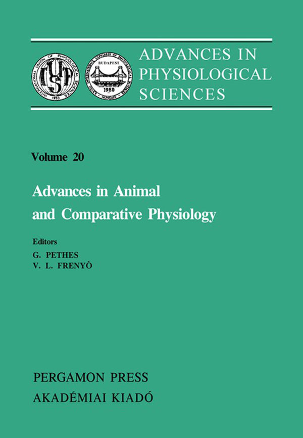 Advances in Animal and Comparative Physiology