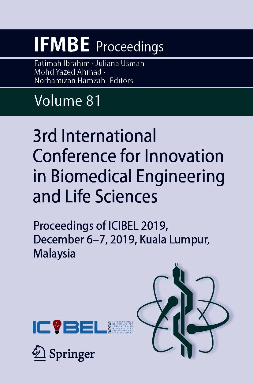 3rd International Conference for Innovation in Biomedical Engineering and Life Sciences