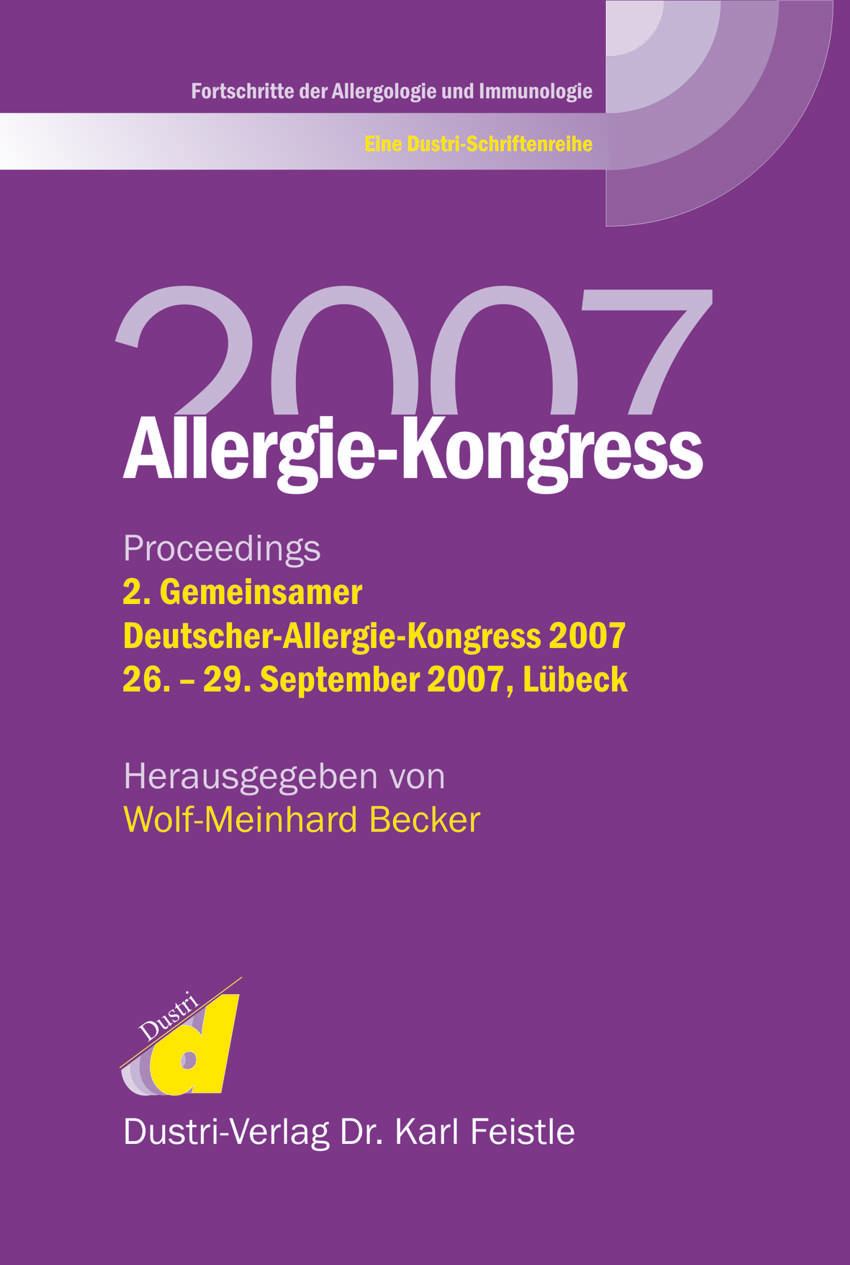 Allergie-Kongreß 2007