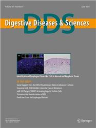 Cover Digestive Diseases and Sciences