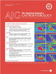 Cover American Journal of Gastroenterology