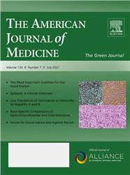 Cover American Journal of Medicine