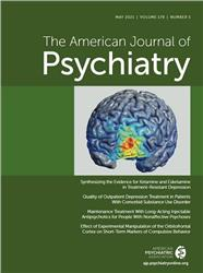 Cover American Journal of Psychiatry