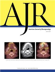 Cover American Journal of Roentgenology