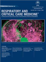 Cover American Journal of Respiratory and Critical Care Medicine