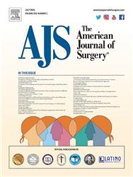 Cover American Journal of Surgery
