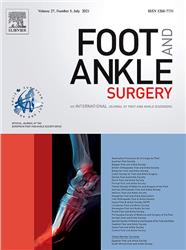 Cover Journal of Foot and Ankle Surgery
