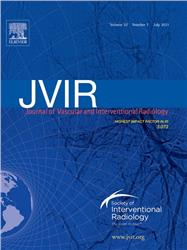 Cover Journal of Vascular and Interventional Radiology