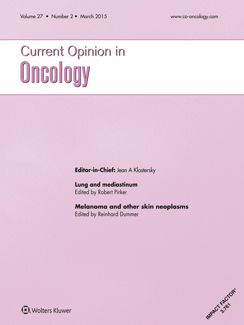 Current Opinion in Oncology