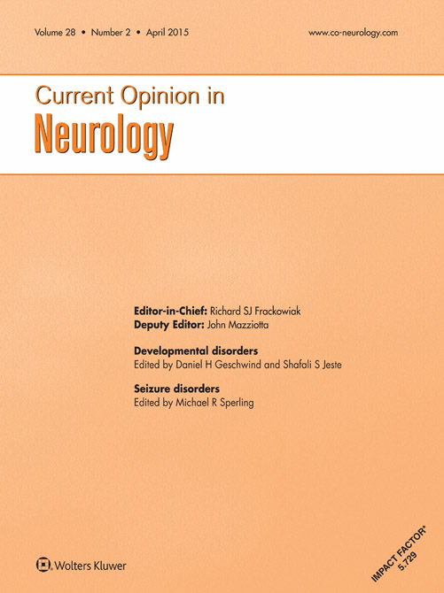 Current Opinion in Neurology