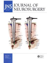 Cover Journal of Neurosurgery (incl.Jln.of Neurosurgery Spine+Pediatrics)