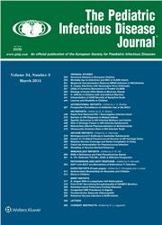 Cover Pediatric Infectious Disease Journal