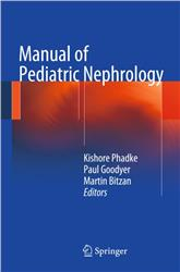 Cover Manual of Pediatric Nephrology