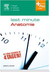 Cover Last Minute Anatomie / mit Zugang zum Elsevier-Portal
