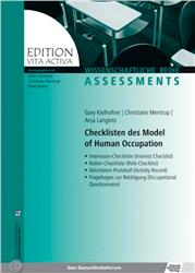 Cover Checklisten des Model of Human Occupation