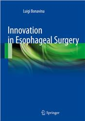 Cover Innovation in Esophageal Surgery