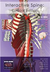 Cover Interactive Spine: Clinical Edition DVD-ROM