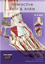 Cover Interactive Foot and Ankle DVD-ROM