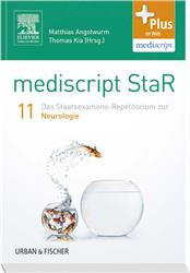 Cover mediscript StaR 11 das Staatsexamens-Repetitorium zur Neurologie
