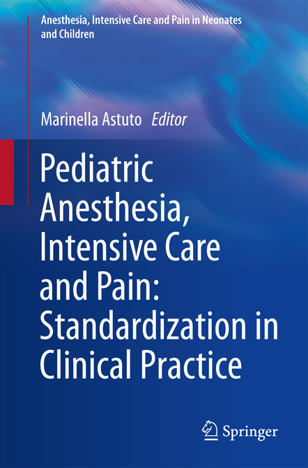 Pediatric Anesthesia, Intensive Care and Pain