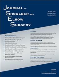 Cover Journal of Shoulder and Elbow Surgery