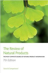 Cover The Review of Natural Products