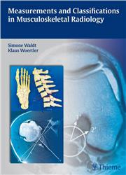 Cover Measurements and Classifications in Musculoskeletal Radiology